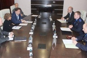 Во время встречи. Фото Следственного комитета