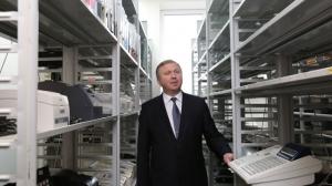 Андрей Кобяков в испытательном центре БелГИСС