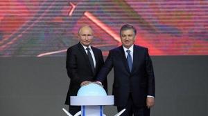 Владимир Путин и Шавкат Мирзиеев. Фото УзА