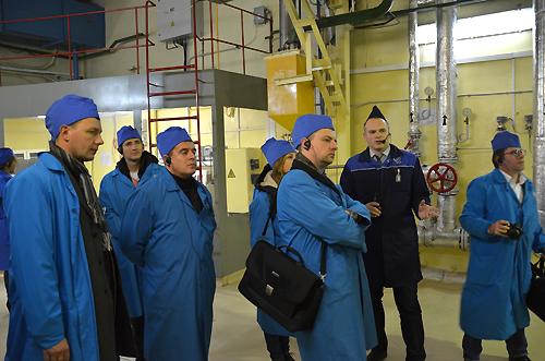 Зарубежные эксперты ознакомились с современными технологиями переработки радиоактивных отходов в России<br />