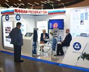 Росатом представил объединенную выставочную экспозицию в рамках 59-й Генеральной конференции МАГАТЭ