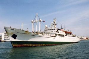 """Российские ученые на корабле """"Профессор Хлюстин"""" продолжают исследование радиационной обстановки Тихого океана"""