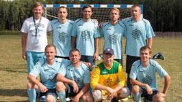 Строители БелАЭС приняли участие в турнире по мини-футболу<br />