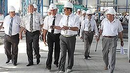Стройплощадка будущей БелАЭС является образцом для белорусских строителей