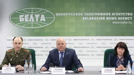 Пресс-конференция по итогам рассмотрения доклада Беларуси о выполнении Конвенции о ядерной безопасности прошла в пресс-центре БЕЛТА<br />