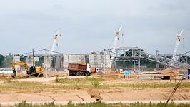 На строительной площадке Белорусской АЭС