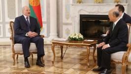 Лукашенко встретился с гендиректором МАГАТЭ Юкия Амано