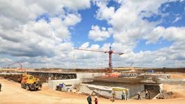 БелАЭС строится в соответствии с утвержденным графиком