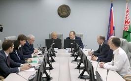 Генеральный директор МАГАТЭ встретился с руководством МЧС Беларуси