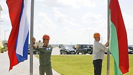 Белорусско-российский студотряд приступил к работе на строительстве объектов БелАЭС<br />