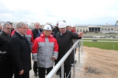 Генеральный директор МАГАТЭ посетил БелАЭС