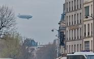 Над Парижем и его пригородами начал полеты экскурсионный дирижабль<br />