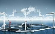В Японии продемонстрировали компоненты крупнейшей в мире плавучей ветряной электростанции<br />