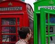 Красные телефонные будки Лондона позеленеют ради смартфонов