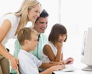 В Беларуси на 100 семей с детьми приходится уже 94 персональных компьютера<br />