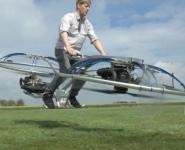 Изобретатель Колин Фёрз представил летающий байк
