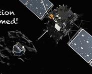Впервые космический зонд приземлился на комету