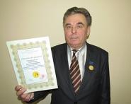 <p>Белорусский ученый удостоен высшей награды Европейской научно-промышленной палаты</p>
