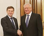 Мясникович уверен в успешности белорусско-российского сотрудничества в космической сфере<br />