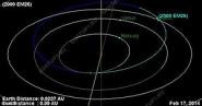 Астероид диаметром 270 метров пролетел мимо Земли