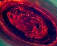 На Сатурне сняли мощнейший ураган в Солнечной системе<br />