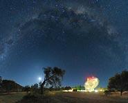 Астрофизики зафиксировали мощное космическое радиоизлучение внегалактического происхождения<br />