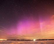 В Беларуси ночью наблюдали полярное сияние<br />