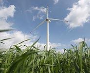 Первая белорусско-французская ветряная энергетическая установка открыта во французском Гранд-Синте<br />