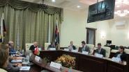 Во время встречи. Фото Госатомнадзора