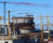 Строительство Белорусской АЭС. Фото из архива