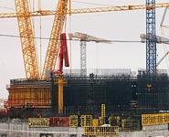 Завершено бетонирование первого яруса купола ВЗО на первом блоке Белорусской АЭС