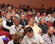 В слушаниях по отчету ОВОС Белорусской АЭС принимают участие более 300 человек<br />