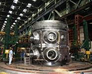 Завершена сборка верхнего полукорпуса реактора для блока №1 Белорусской АЭС
