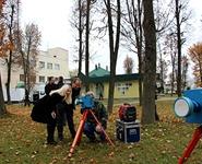 Экологи провели отбор проб воздуха и почвы в районе строительства Белорусской АЭС<br />
