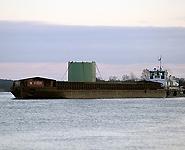 Груз для Белорусской АЭС транспортируется по Днепру