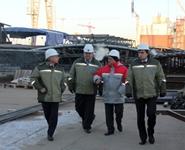 Заместитель генерального директора МАГАТЭ посетил строительную площадку Белорусской АЭС