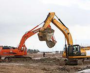 Начались работы на котловане под второй энергоблок Белорусской АЭС