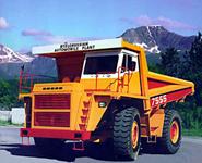 BelAZ trucks for Australian company Rio Tinto<br />
