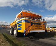 BelAZ rolls out world's largest dump truck<br />