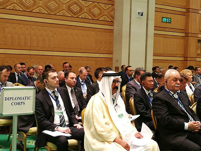 ВАшхабаде подошла кконцу работа Форума Международной Энергетической Хартии