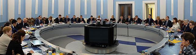 Во время встречи. Фото Министерства энергетики Беларуси