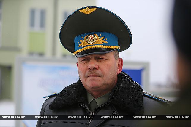 Командующий ВВС и войсками противовоздушной обороны Вооруженных Сил Республики Беларусь генерал-майор Игорь Голуб