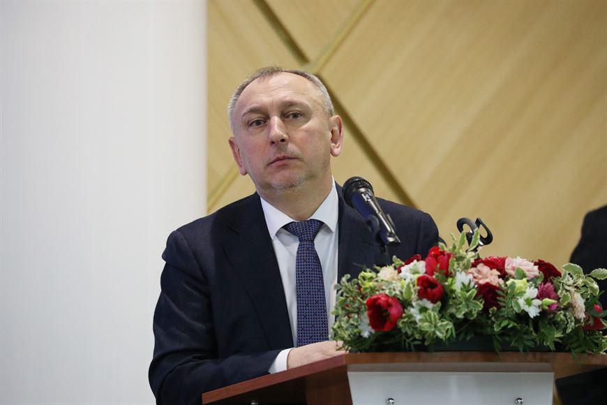 Head of the Industrial Park Administration Aleksandr Yaroshenko